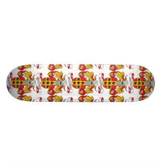 Martinez Family Crest 20.6 Cm Skateboard Deck