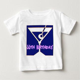 Martini 55th Birthday Gifts T-shirt
