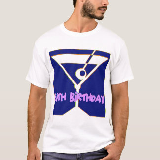 Martini 85th Birthday Gifts T-Shirt