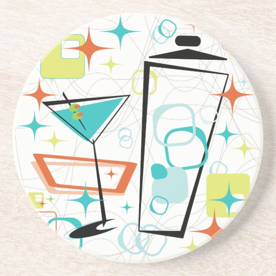 Martini A Go-Go! Drink Coaster