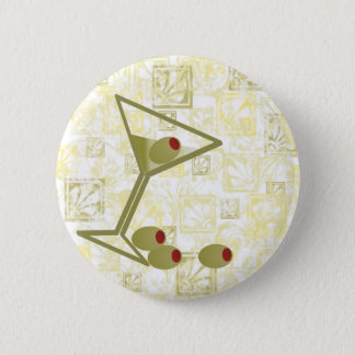 Martini and Olives 6 Cm Round Badge