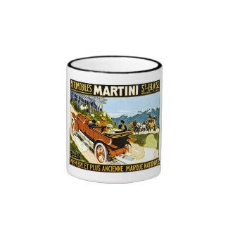 Martini Automobiles St. Blaise Ringer Mug