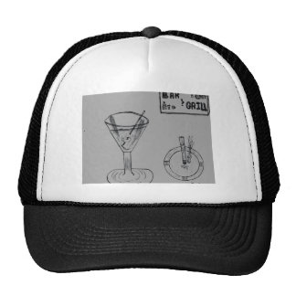 Martini Break At The Bar And Grill Trucker Hat