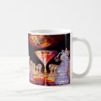Martini Chess Coffee Mugs