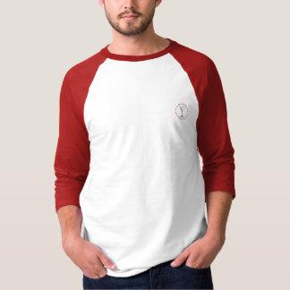 martini circle baseball T-Shirt