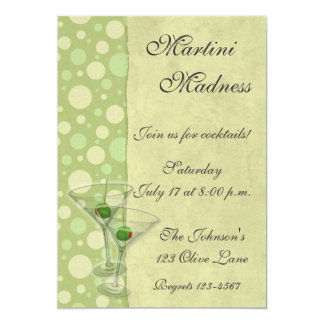 Martini Cocktail Party Invitation