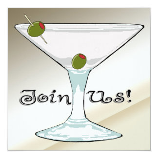 Martini Cocktail Party Invitations