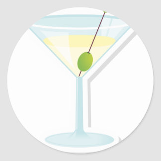 Martini Cocktail Stickers