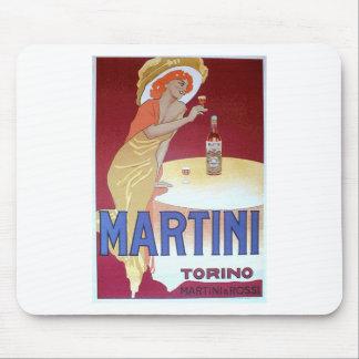 Martini design mouse mat