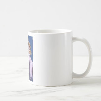 martini flapper basic white mug