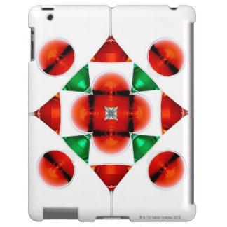 Martini glass snowflake iPad case