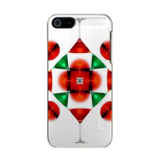 Martini glass snowflake incipio feather® shine iPhone 5 case