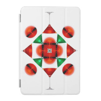 Martini glass snowflake iPad mini cover