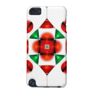 Martini glass snowflake iPod touch (5th generation) cover