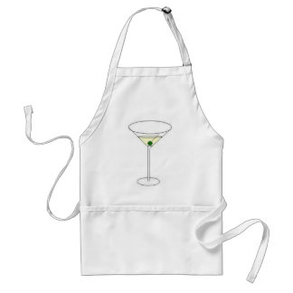 Martini Glass Standard Apron