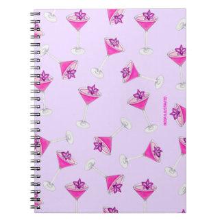 Martini Happy Hour Notebooks