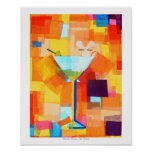 Martini Mouse Poster