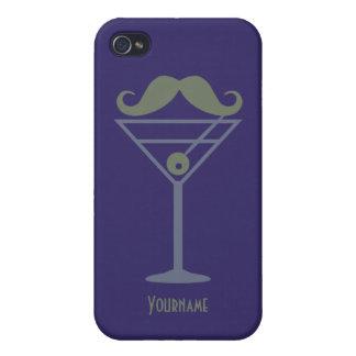 Martini Moustache iPhone cases