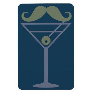 Martini Moustache magnet