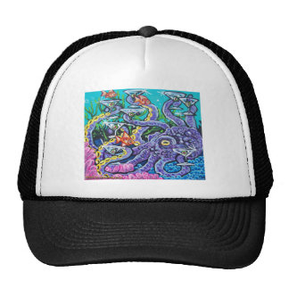 martini octopus cap