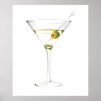 Martini Poster - SRF