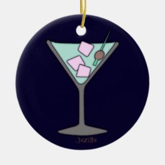 Martini Quick Sky Round Ceramic Decoration