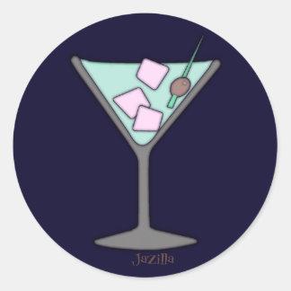 Martini Quick Sky Stickers