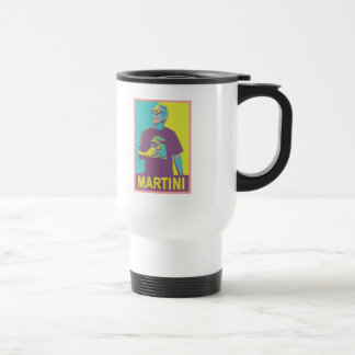 MARTINI STAINLESS STEEL TRAVEL MUG