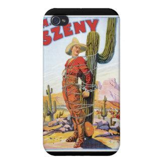 Martini Szeny ~ Vintage Cowboy Wonder Magic Act iPhone 4/4S Cover