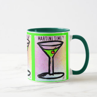 MARTINI TIME APPLETINI PASTEL PRINT by jill
