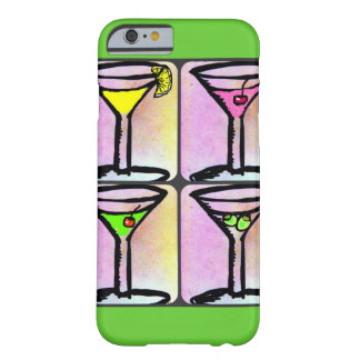 MARTINI TIME PASTEL BARELY THERE iPhone 6 CASE