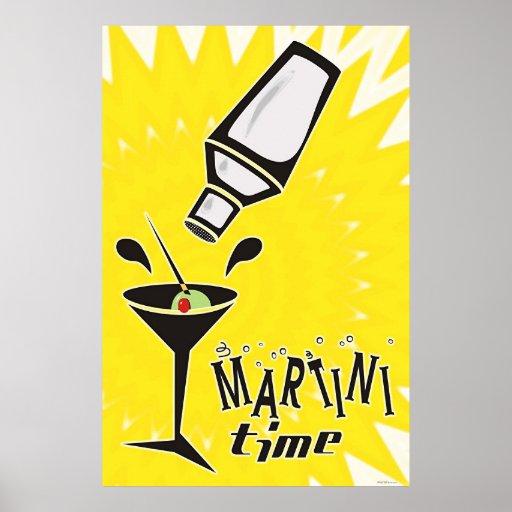 Martini Time Print