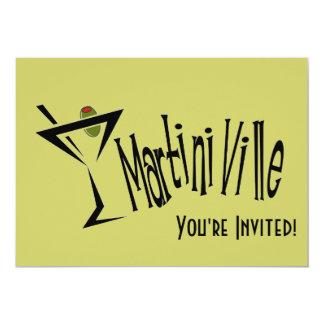Martini Ville 13 Cm X 18 Cm Invitation Card