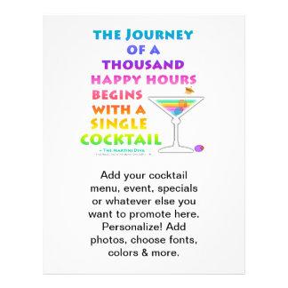 MARTINI ZEN - Happy Hour Journey  Flyer