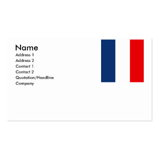 Martinique Double-Sided Standard Business Cards (Pack Of 100)