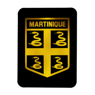Martinique Emblem Magnet