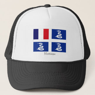 Martinique flag souvenir hat