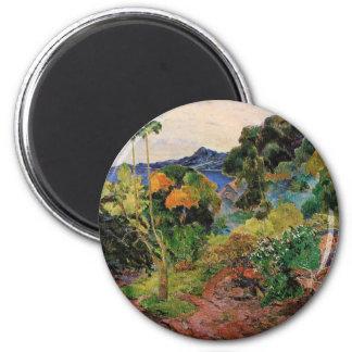 Martinique Landscape Magnet