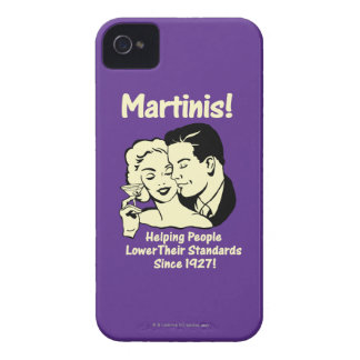Martinis: Helping Lower Standards iPhone 4 Cover