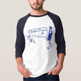 martini's & Music - Blue T-Shirt