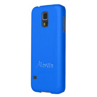 Martin's Full Blue Samsung Galaxy S5 cover