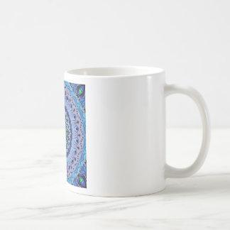 Marty Blue Kaleidoscope Basic White Mug