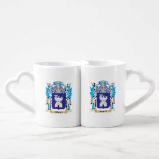 Marty Coat of Arms - Family Crest Couples Mug