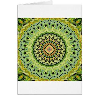 Marty Kaleidoscope Vintage Greens Cards