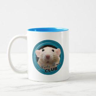 Marty Mouse Club Mug - Logo