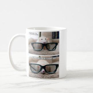 Marty Mouse Glasses Mug