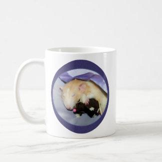 Marty Mouse Mug (Rat Sleeping with Teddy Bear)