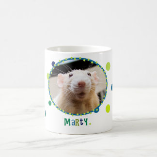 Marty Mouse Mug - with Polka Dots