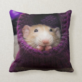 Marty Mouse Purple Sock Pillow Cushions