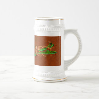 Marty the Praying Mantis Beer Steins
